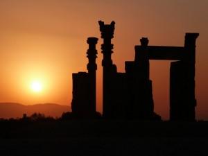 Atardecer en Persépolis