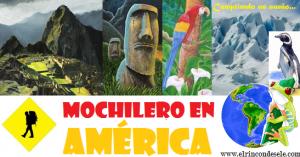 Mapa de la ruta por Sudamérica