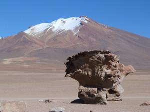 Mapa de la ruta de Atacama al Salar de Uyuni