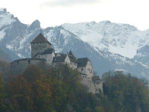 Castillo de Vaduz en Liechtenstein