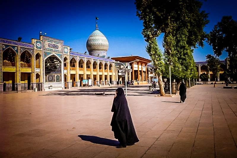 Mausoleo Shah-e-Cheragh (Shiraz, Irán)