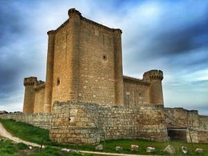 Castillo de Villafuerte de Esgueva (Valladolid)