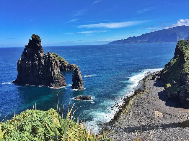 Collage de paisajes en Madeira