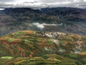 Tierras Rojas de Dongchuan (Yunnan)