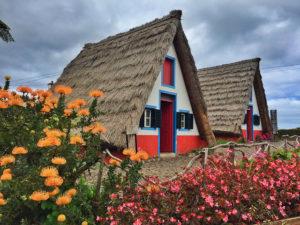 Casa típica de Santana en Madeira