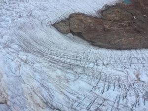 Glaciar Qorqup en helicóptero (Groenlandia)