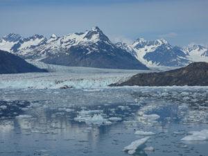 Glaciar Columbia en Alaska