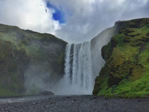 Skógafoss, una de las cataratas más bonitas de Islandia