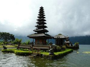 Templo Bratan en Bali (Indonesia)