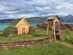 Iglesia vikinga en Qassiarsuk (sur de Groenlandia)