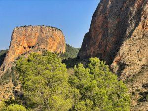 Paisaje de la Sierra del Segura y Alcaraz (Mirador del infierno)