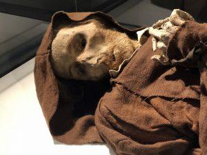 Momia del museo de las momias de Quinto (Zaragoza)