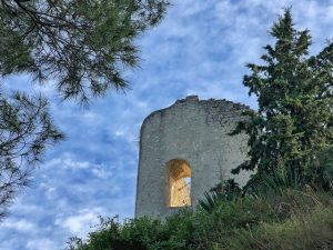 Castillo de La Tossa de Montbui (Anoia)