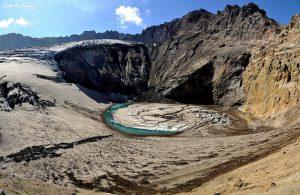 Cráter de Kamchatka
