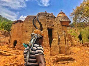 Mujer tamberma (somba) en Togo