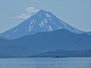 Submarino nuclear en Kamchatka