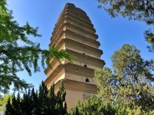 Pagoda de la oca salvaje en Xi'an (China)