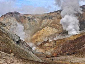 Volcán Mutnovsky (Kamchatka)