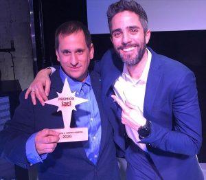 Sele y Roberto Leal (Premios IATI 2020)