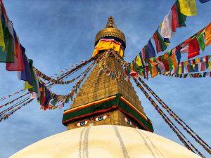 Estupa de Boudhanath en Katmandú (Nepal) - Consejos para preparar una vuelta al mundo o un viaje de larga duración